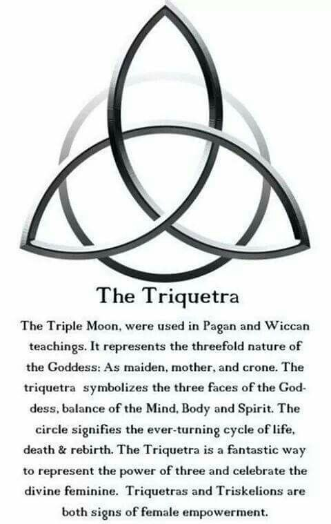 Triquetra Something Wiccan This Way Comes Pinterest Triquetra
