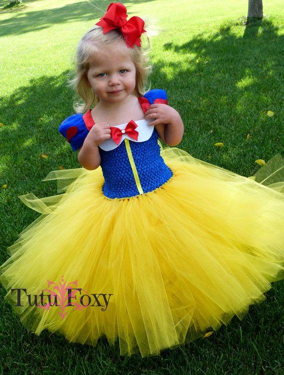 36c085c8528 Snow White Tutu Dress Snow White Costume SnowWhite by TutuFoxy