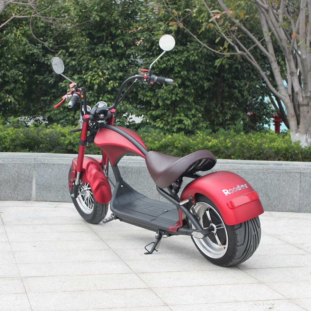 Citycoco electric scooter Rooder super chopper r804 m1 with EEC COC on