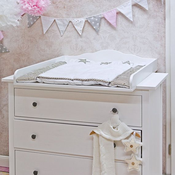 Puckdaddy Cloud 7 Changing Table Top For Ikea Hemnes Dresser