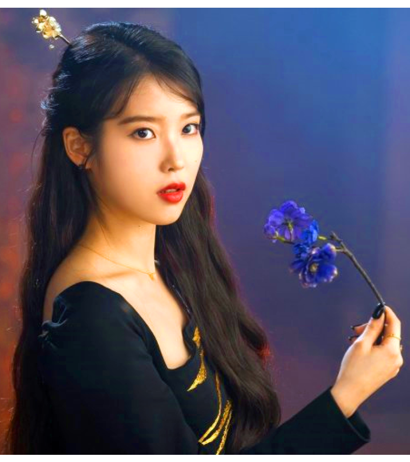 Hotel Del Luna Iu Inspired Hair Accessory 002 One Size Only Gold