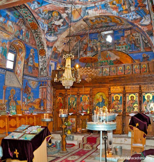 St Elijah Monastery In Village Melnica Mariovo Macedonia Mariovo
