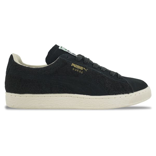 3c27621b9415 Puma Suede City Menswear Trainers in Black   White Swan