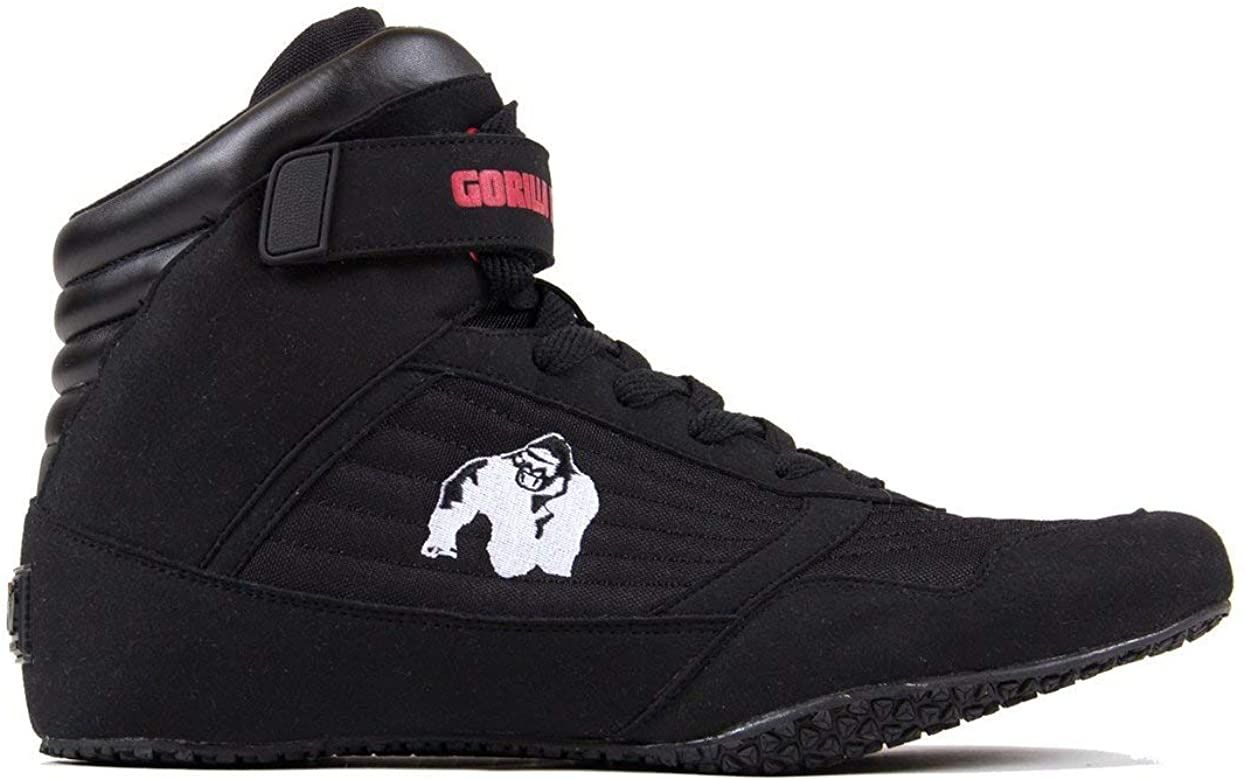 Gorilla Wear Bodybuilding Schuhe High Tops Black bei Gorilla