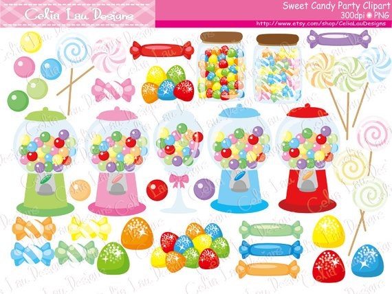 candy clipart sweet shop candies sweet shoppe candy birthday