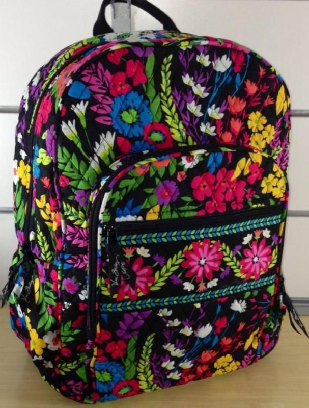Vera Bradley Campus Backpack NEWTAG AUTHENTIC Field Flowers. Find this Pin  and more ... 960e98af17e39