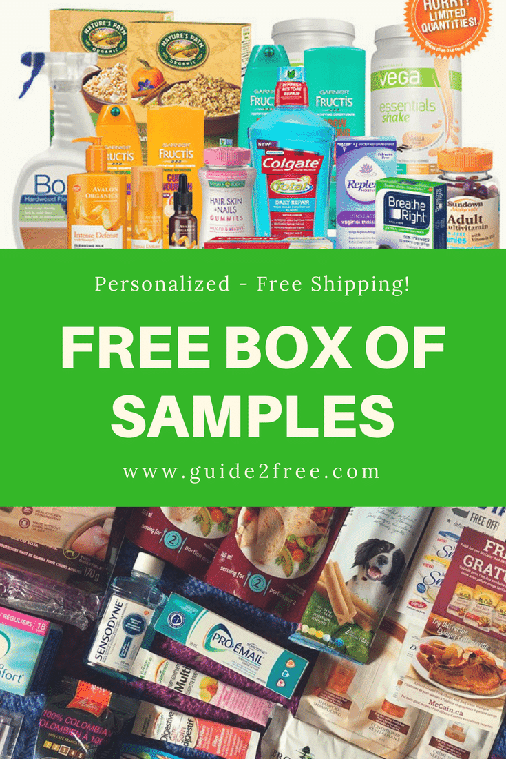 FREE Box of Product Samples from SampleSource Free boxes
