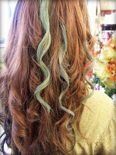 Ben Franklin Crafts & Frame Shop, Monroe, WA: How to: Color Your Hair with Chalk Pastels