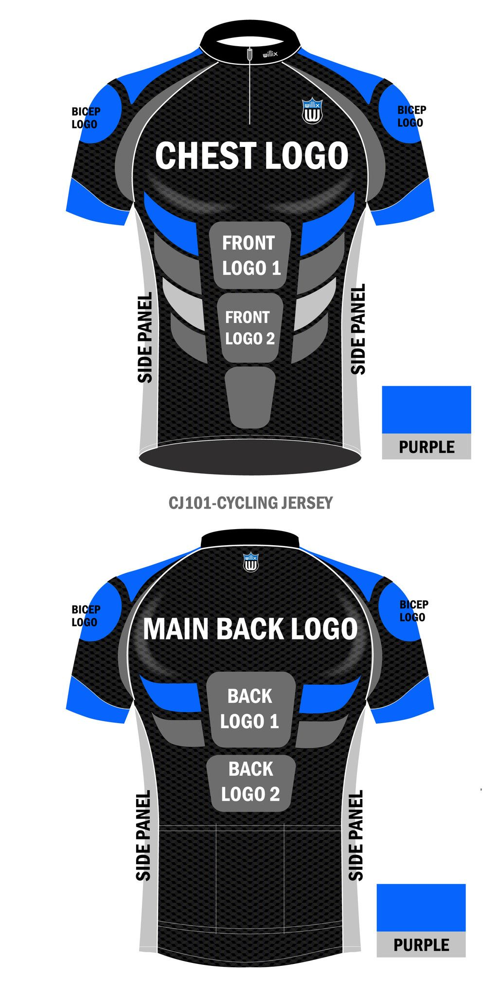 CJ101 - Cycling Jersey (1 to 5 pcs) – Willix Store  42a88c200