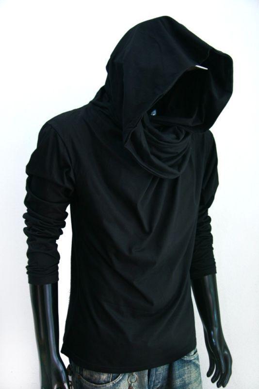 Mens Long Sleeve Cotton Hoodie I Love to Travel 4 Sweatshirt