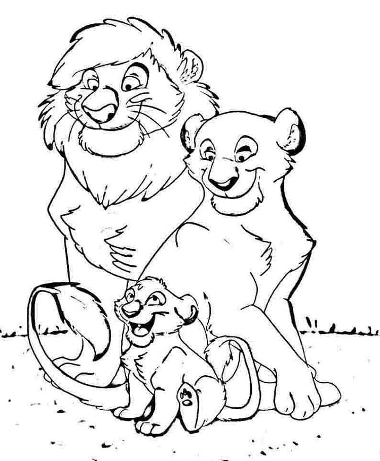 Lion King 3 Coloring Pages