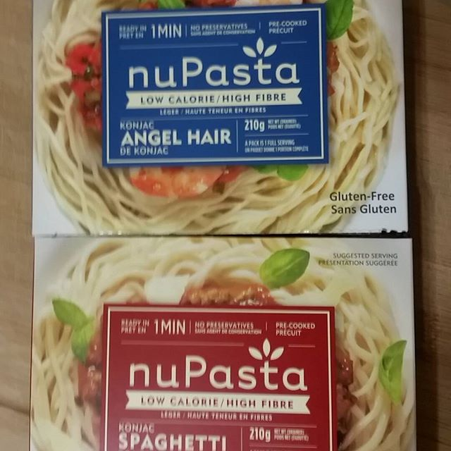 My newest addiction! Finally a pasta I can eat & not feel like I'm dying or gaining 20 lbs per bite! 25 cals per package & only 6 grams of carbs!!  #nupasta #healthyeats #foodie #fitgirl #chefsammy #healthy #bringonsummer #secretweapon #mealprep #tasty #glutenfree #lowcal