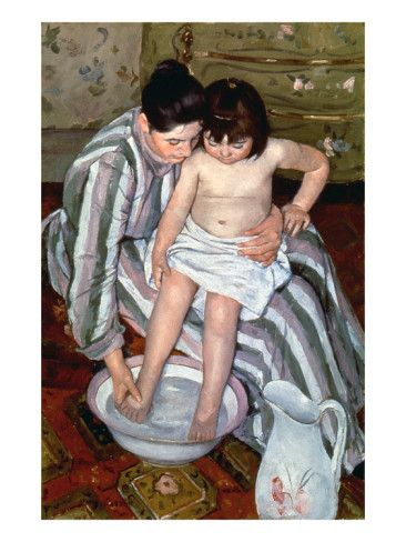 Cassatt: The Bath, 1891-2 Giclee Print