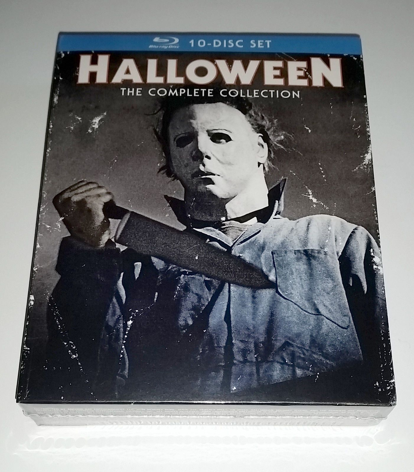 halloween the complete collection 10-disc blu-ray box set new sealed
