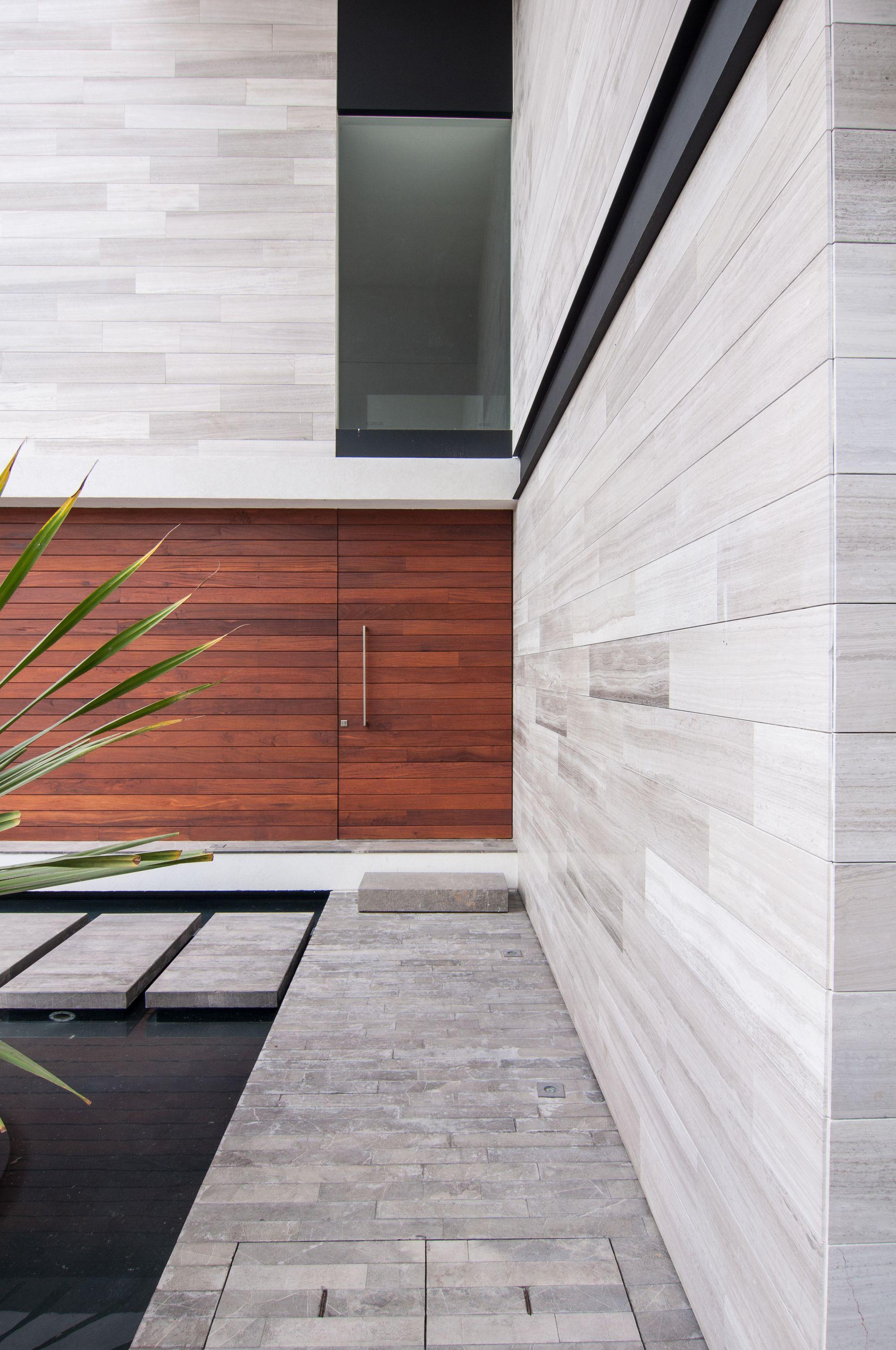 Haus design eingangstor galería de casa paracaima  taff arquitectos    fassaden moderne