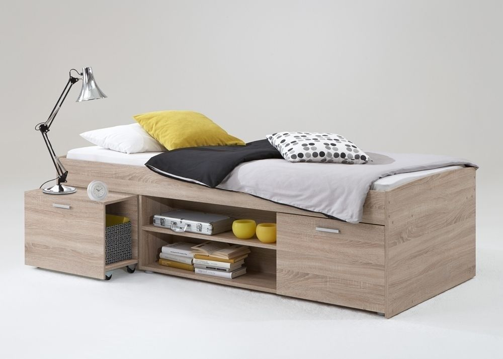 gaestebett cheap kajtenbett carlo kinderbett jugendbett eiche buy now at httpswww with. Black Bedroom Furniture Sets. Home Design Ideas