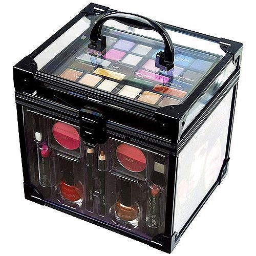 makeup kit box walmart. the color workshop train case makeup kit box walmart pinterest