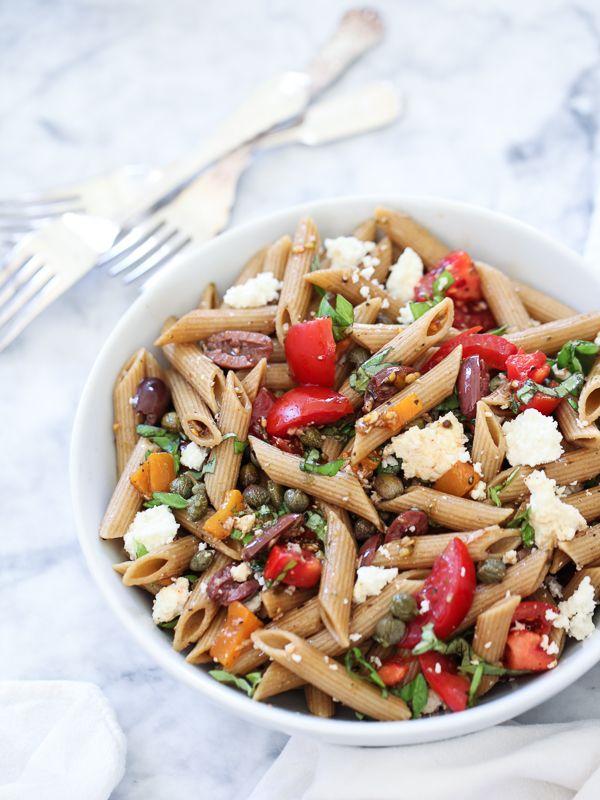 whole wheat pasta recipes greek pasta salad recipe greek salad pasta pasta dishes whole wheat pasta recipes greek pasta