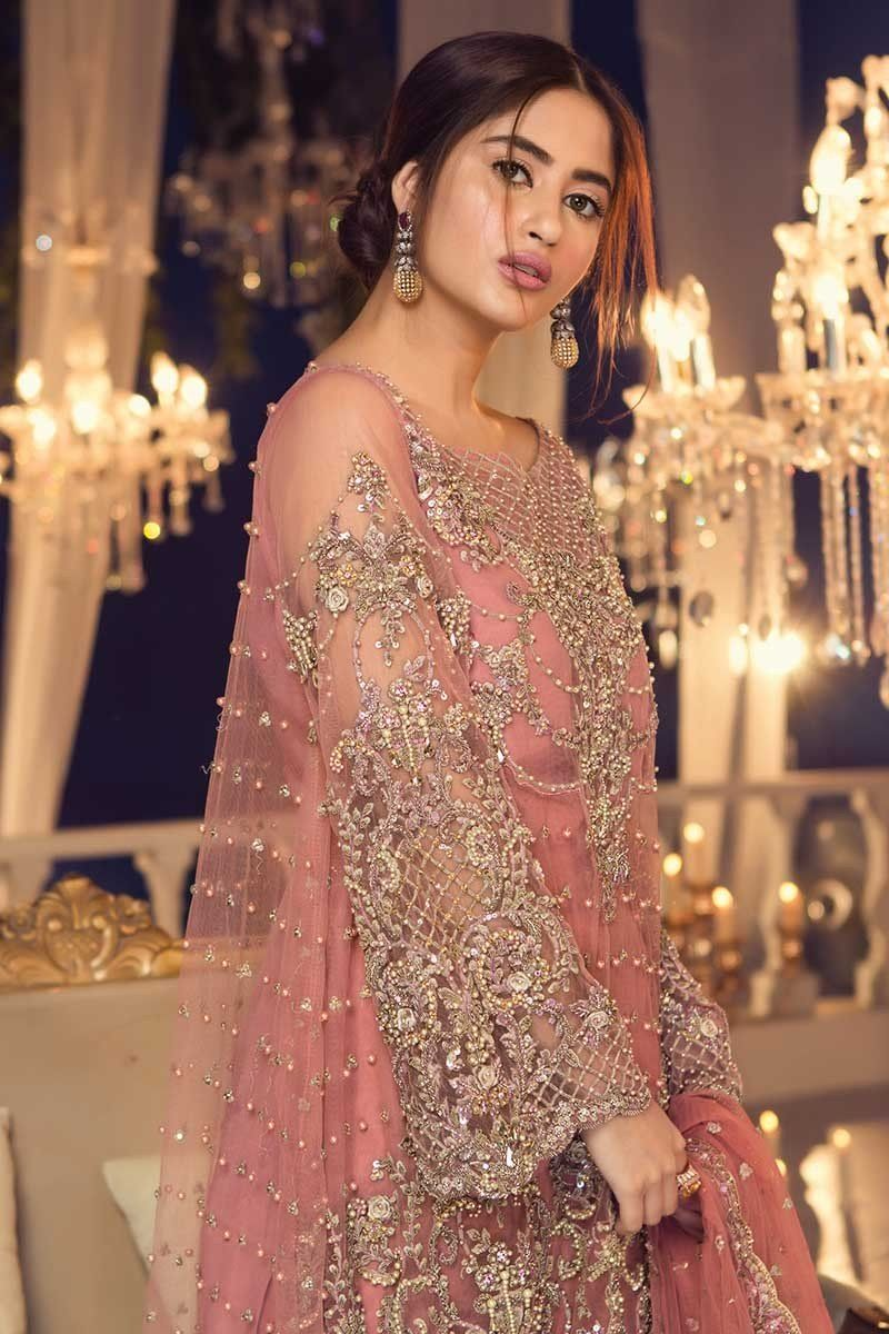 Maria b couture latest fancy formal wedding dresses design