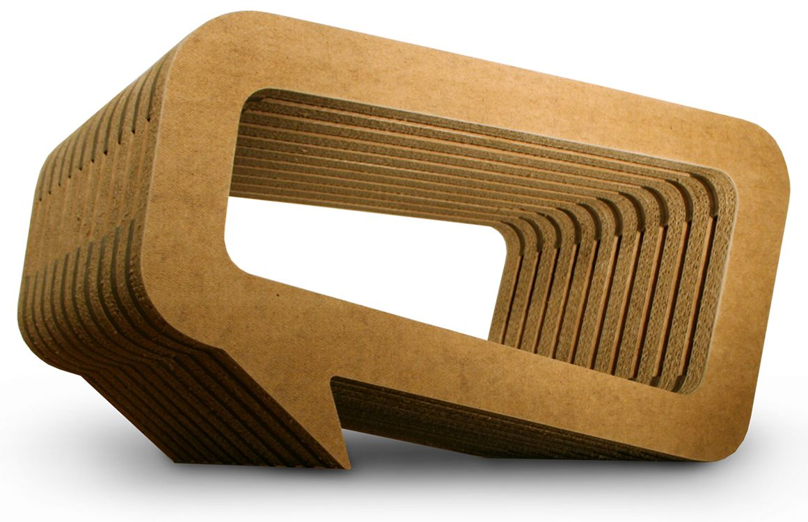 Small wooden coffee table design by leo kempf fantastic modern