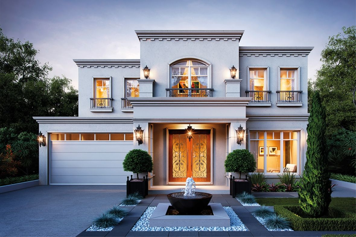 Porter Davis Homes - House Design: Waldorf Grange   Fachadas de ...