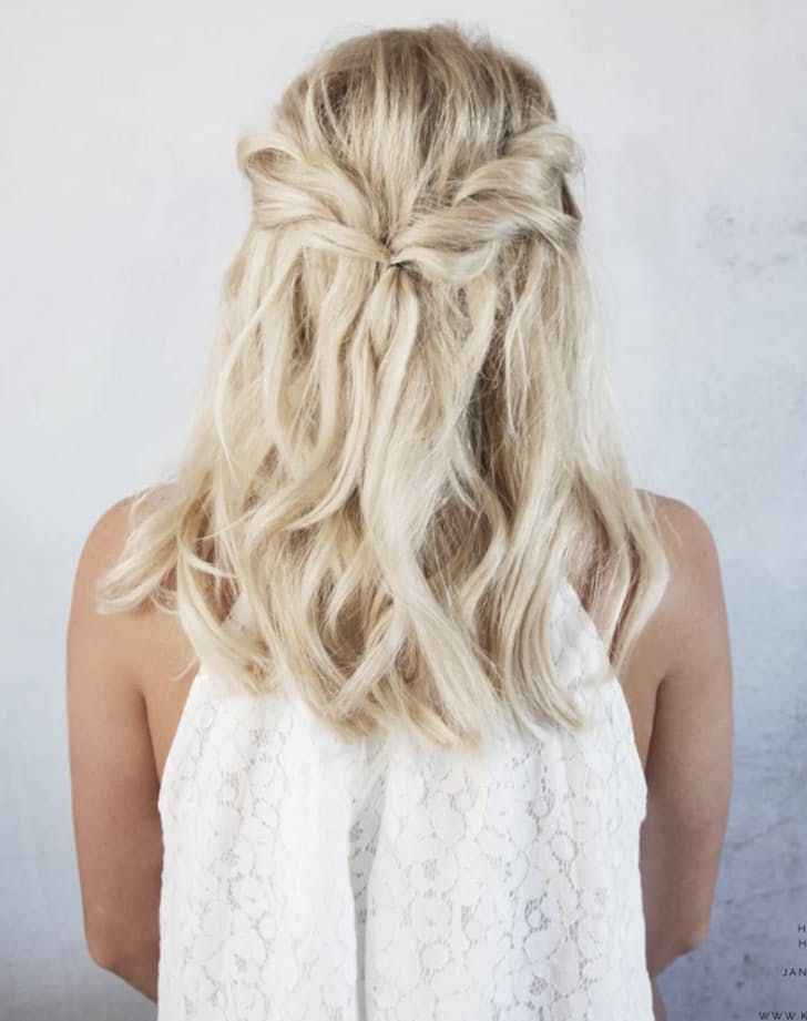 5 Wedding Hairstyles That Won T Take 5 Hours Short Hair Tutorial Guest Hair Evening Hairstyles