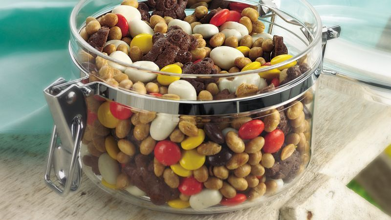 Sweet and Salty Snack Mix recipe from Betty Crocker