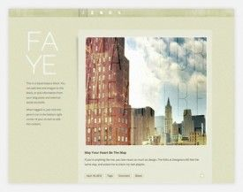 Faye Squarespace 61 275x217 Squarespace 6 Template Directory photo