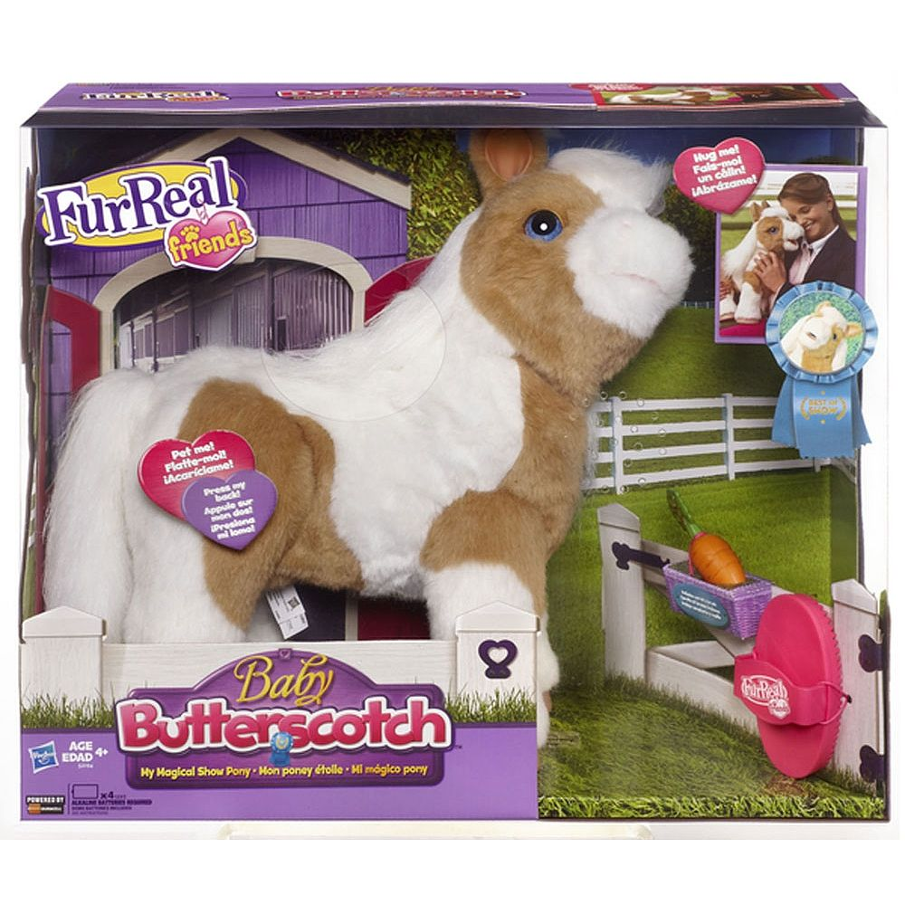Layla Furreal Friends Baby Butterscotch My Magical Show Pony