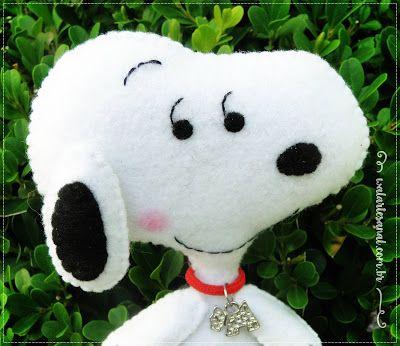 Molde Artesanal Digital - Peanuts - Turma do Snoopy!