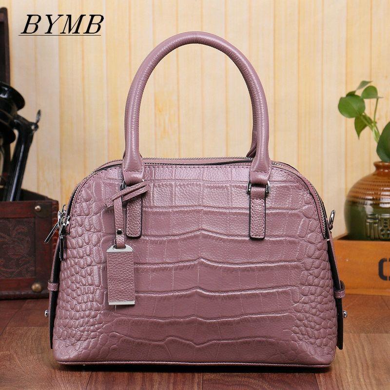 9bc6729b78ed Authentic Women Crocodile Bag 100% Genuine Leather Women Handbag Hot  Selling Tote Women Bag Large Brand Bags Luxury