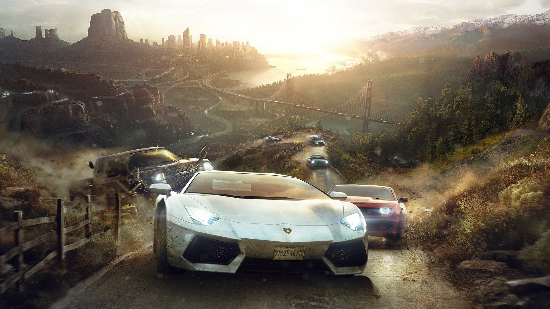 The Crew Never Drive Alone Trailer Ps4 Xbox One Car Games Car Wallpapers Moto Wallpapers