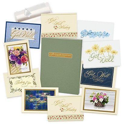 Get well card assortment box business christmas cards mega get well card assortment box business christmas cards reheart Gallery
