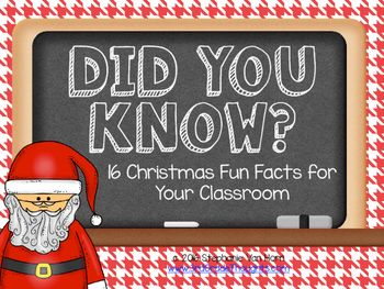 10 Interesting Facts About Santa Claus The Elf On The Shelf Christmas Facts For Kids Christmas Trivia Hanukkah For Kids