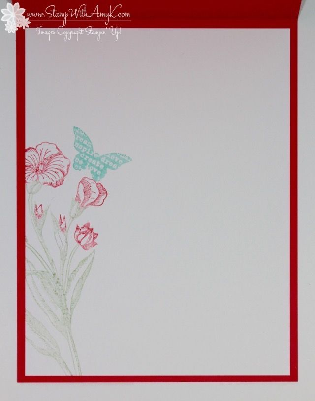 Stampin' Up! Butterfly Basics CAS Hello