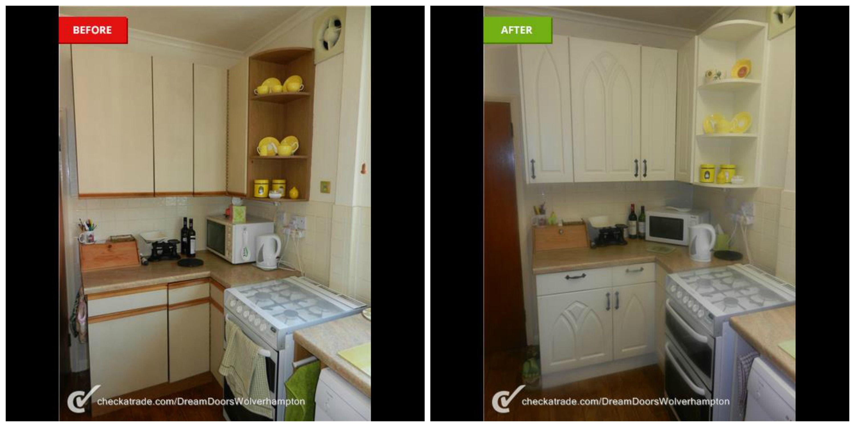 kitchen makeover Wolverhampton https//www.dreamdoors