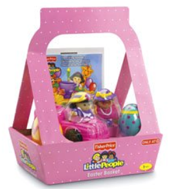 Amazon:  Only $14.32 For Fisher Price Little People Easter Basket + DVD!
