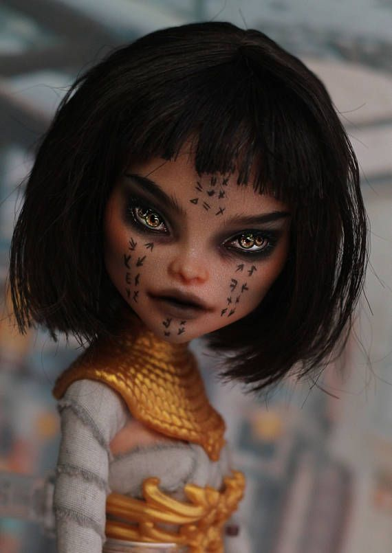OOAK Monster High doll Nefera
