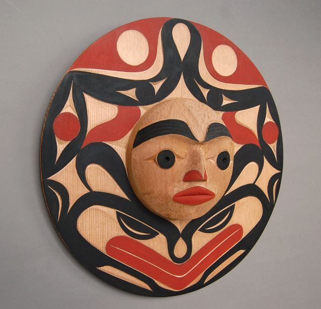 Quintana Galleries: Northwest Coast Masks - Andy Wilbur Peterson, Skokomish