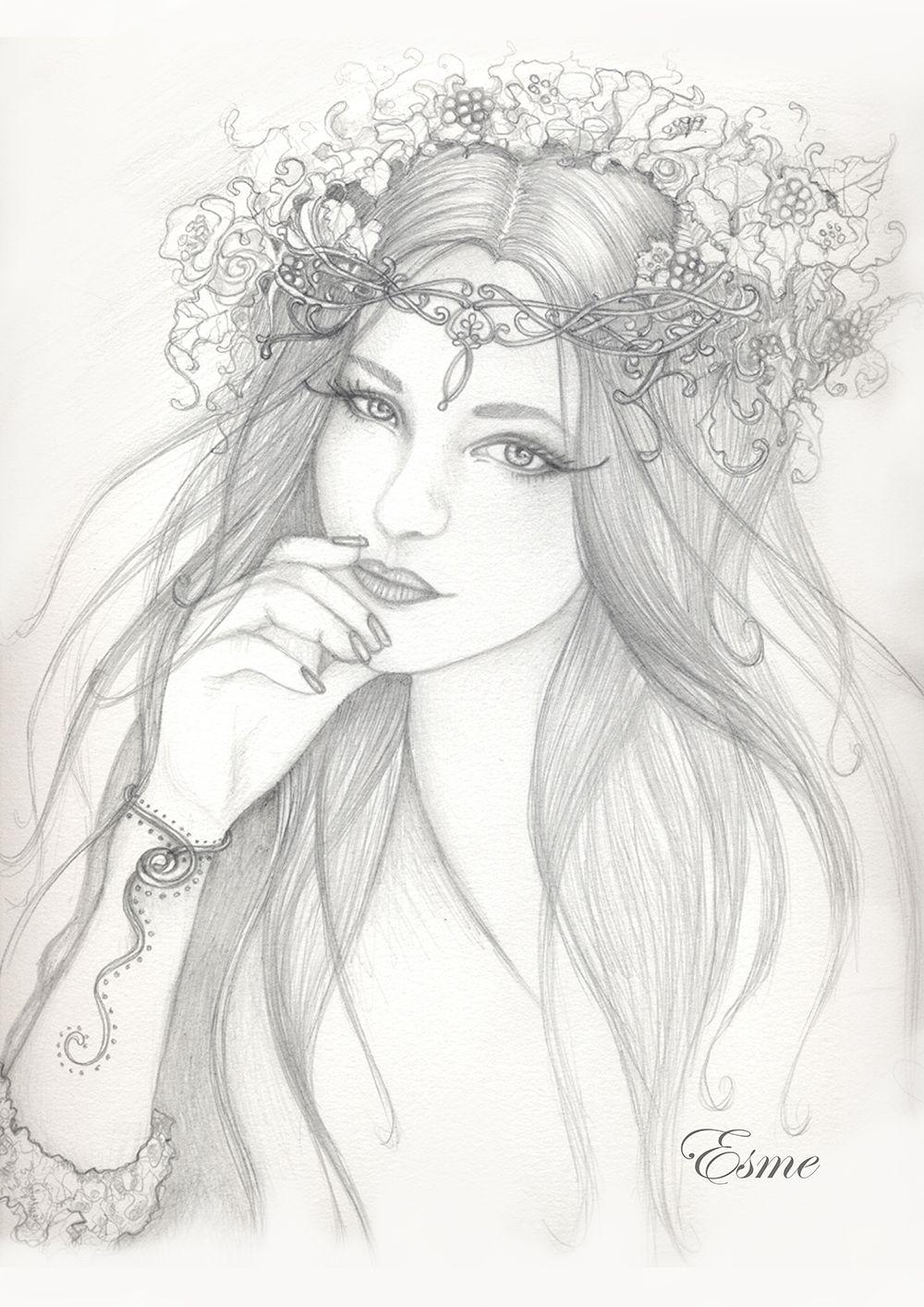 litha goddess of summer by imramma deviantart com on deviantart