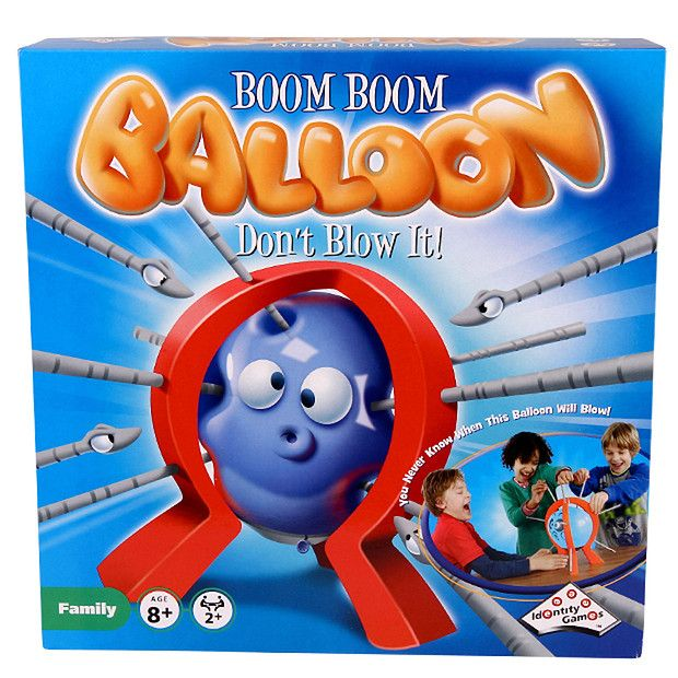 Boom Boom Balloon Game For Kids Ages 8+