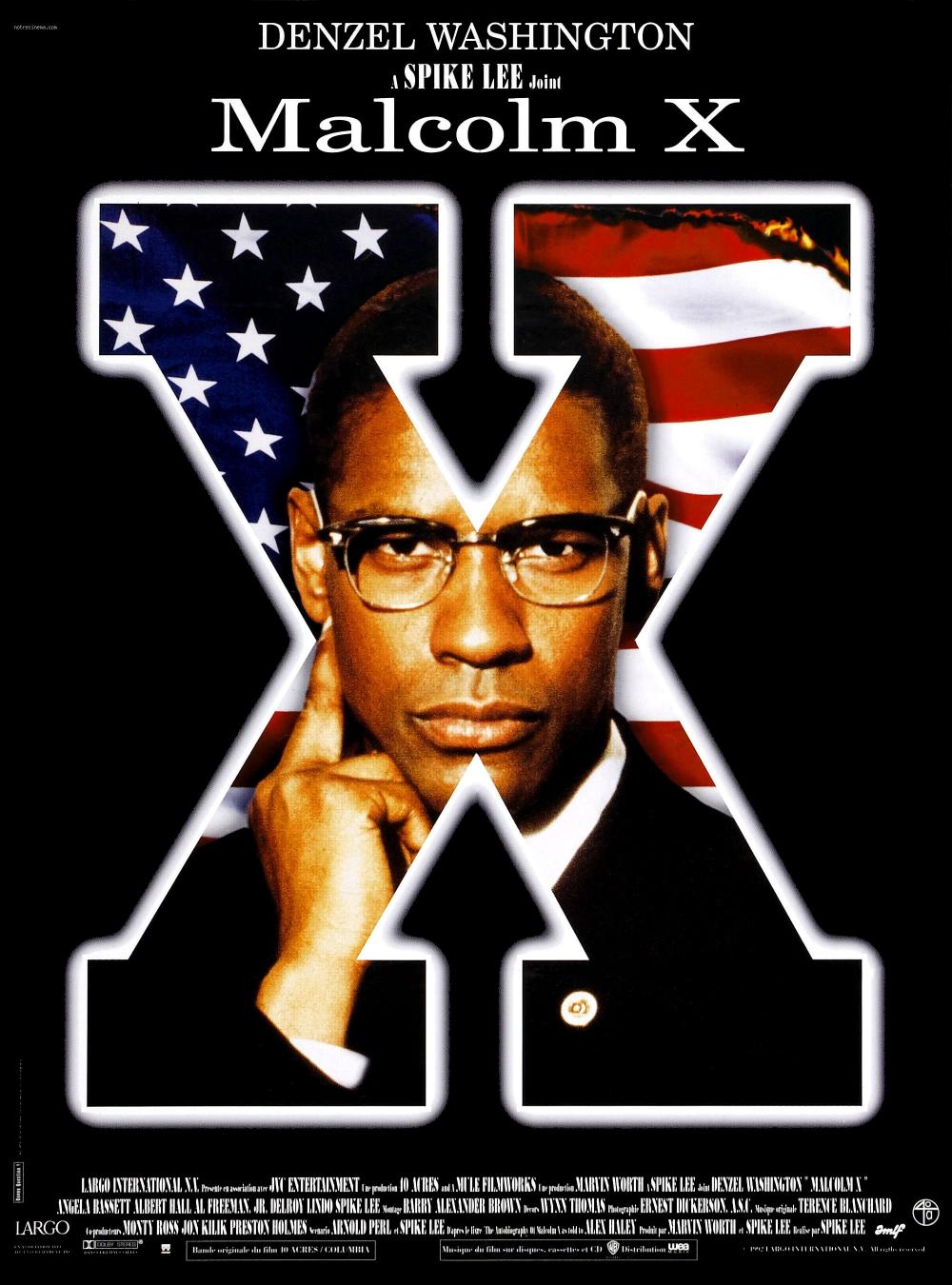 Malcolm X - Film (1992) - SensCritique   Denzel washington, Malcolm x, Film