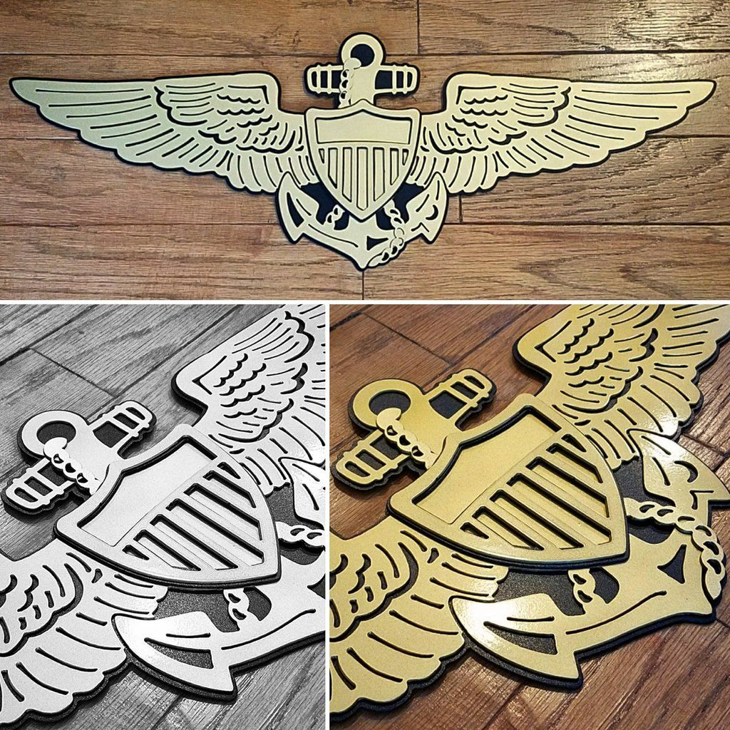 Wings - Naval Aviator Premium Wall Art | Tattoo in 2019