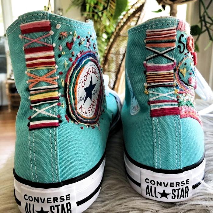 Customiser chaussures