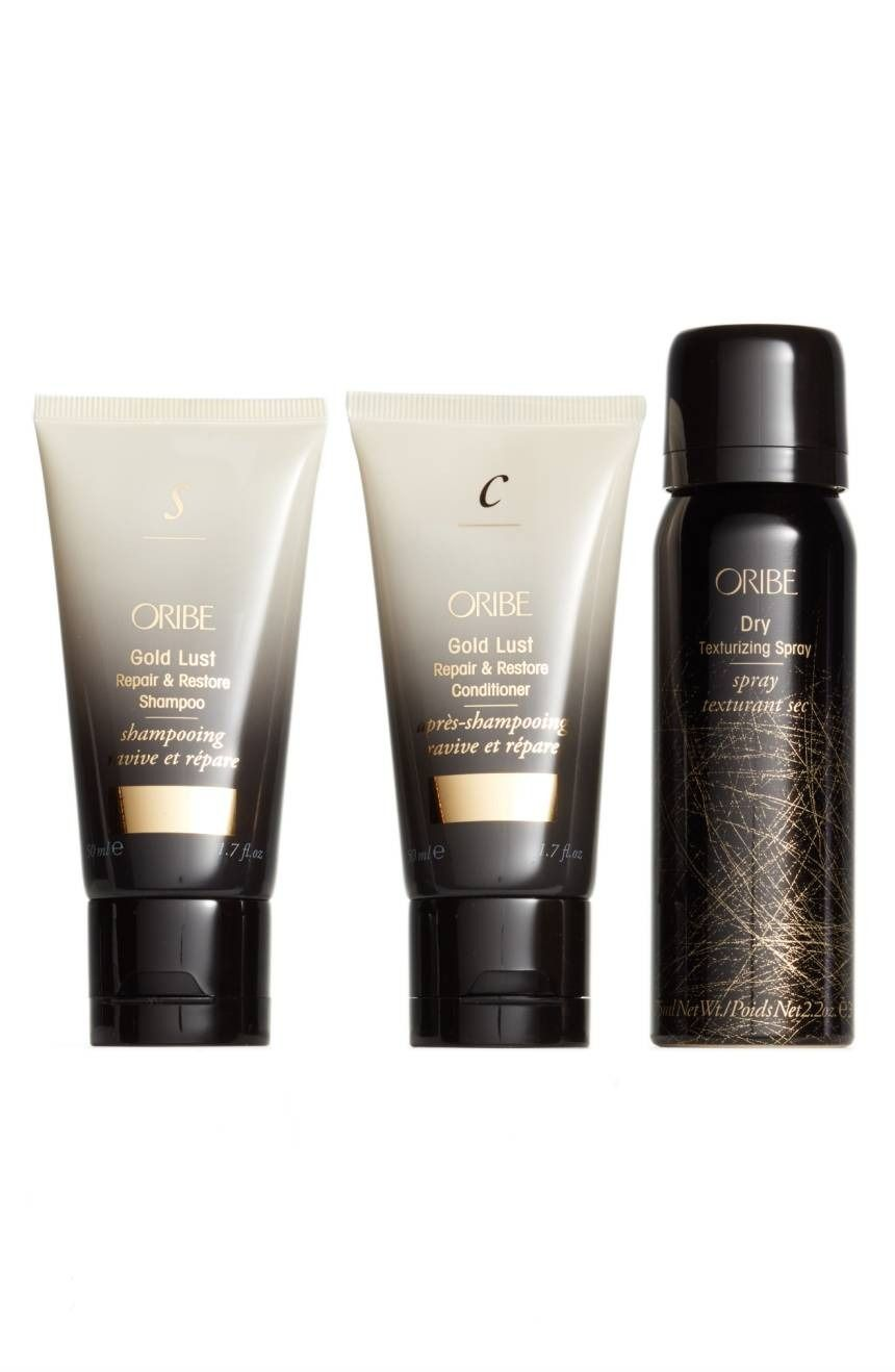 11a55d7a15d Cleanse, condition and style with this three-piece hair care set by Oribe  from the Anniversary Sale.
