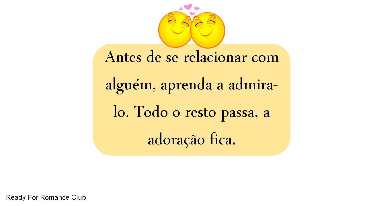 #relacionamento #inspiração #motivação #inspiraçãododia #amor #romance www.readyforormanceclub.com.br