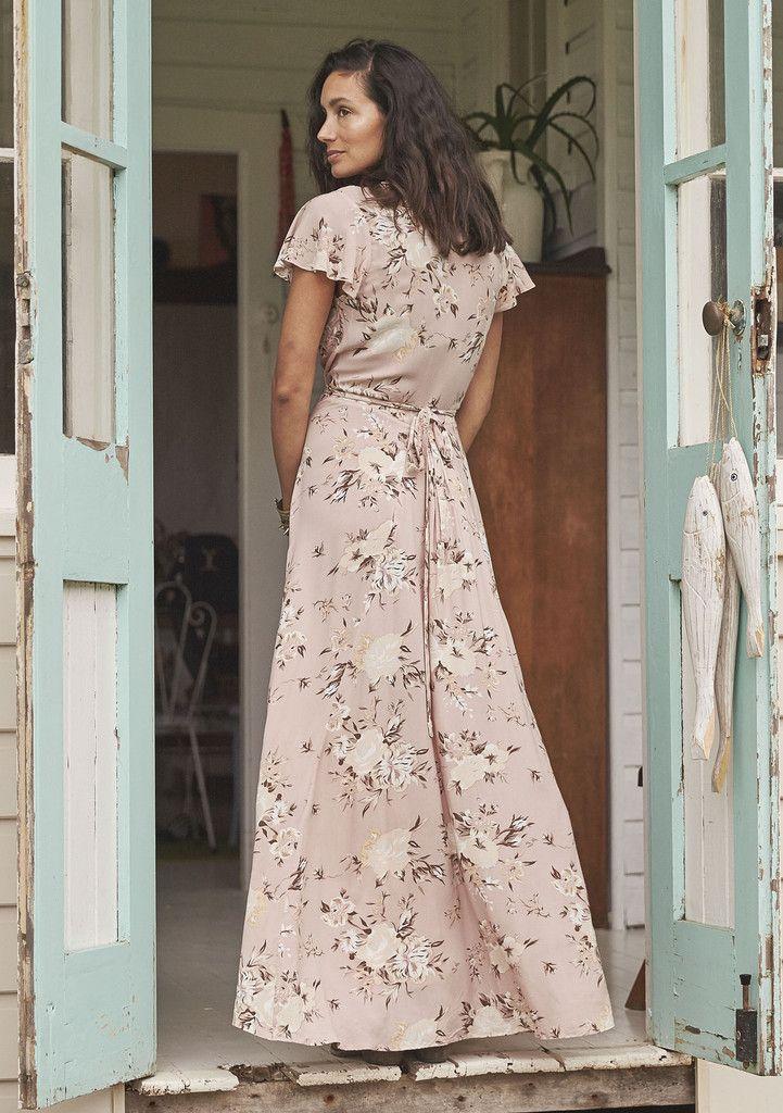 auguste valentines muse maxi dress vintage blooms musk boho dress w i s h l i s t pinterest. Black Bedroom Furniture Sets. Home Design Ideas
