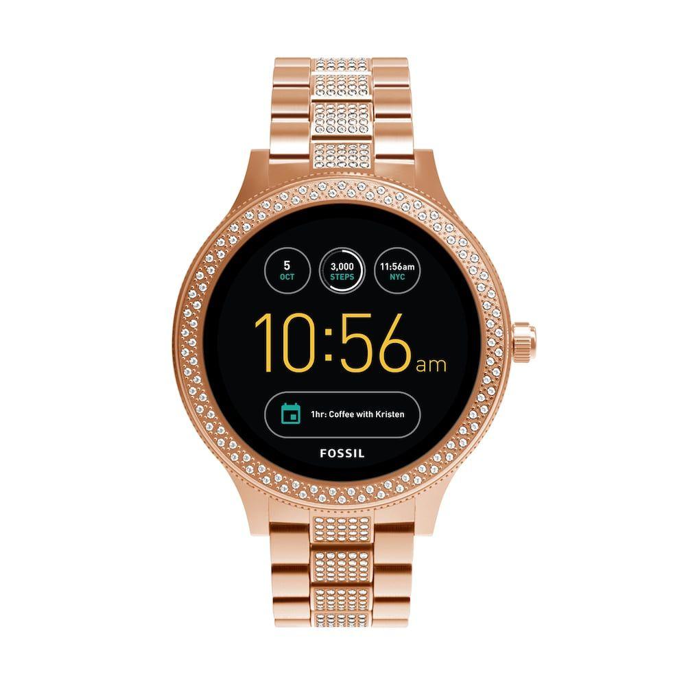 Fossil Women's Q Venture Gen 3 Stainless Steel Smart Watch