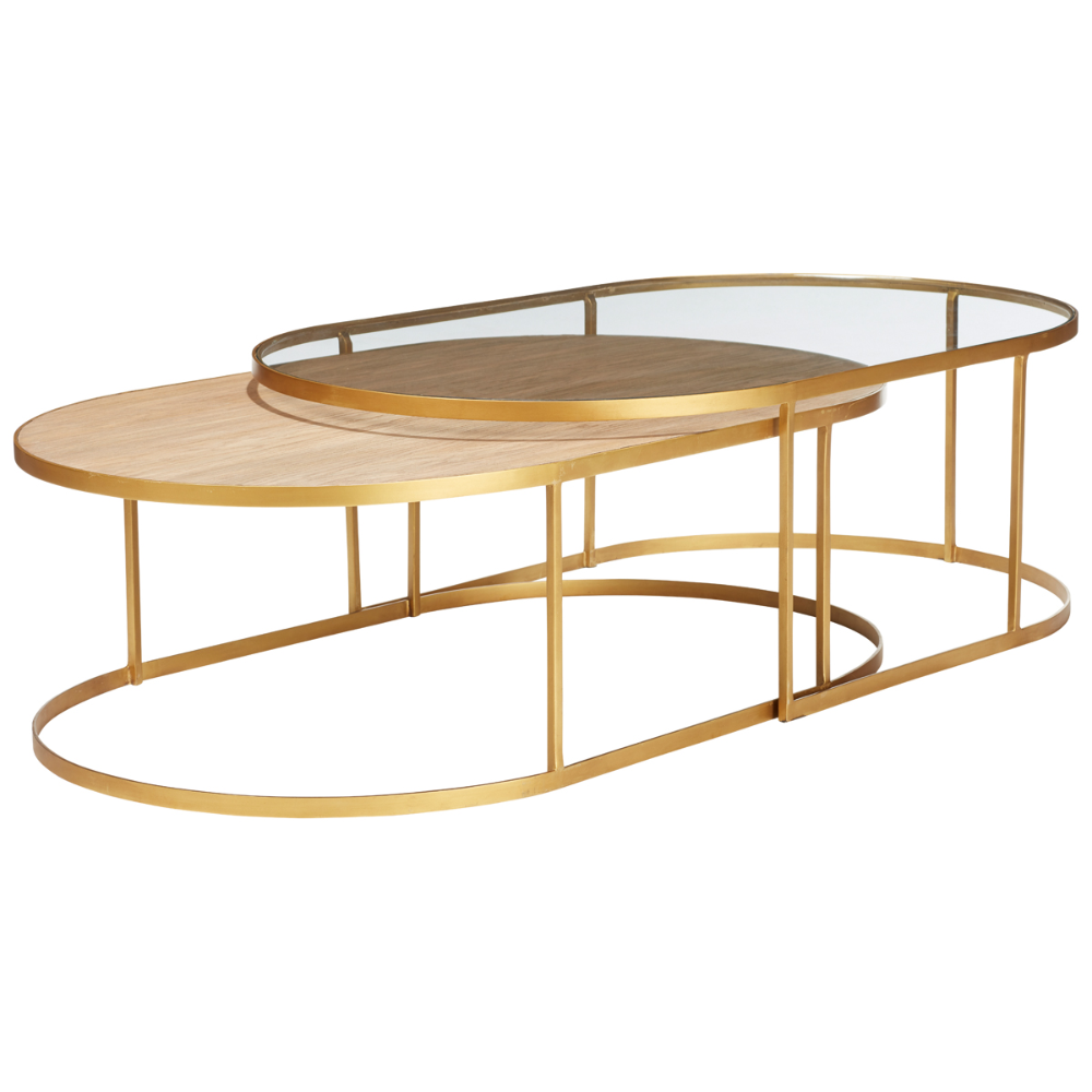 Set Of Two Lutwidge Nested Coffee Tables Coffee Table Table Coffee Table Setting [ 1000 x 1000 Pixel ]