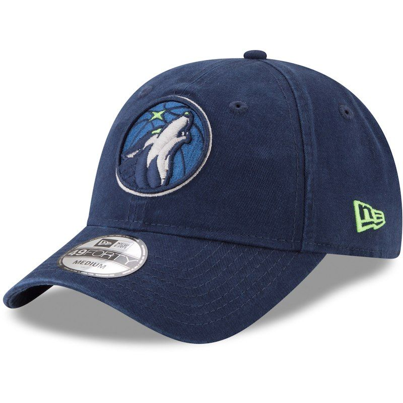 casual shoes utterly stylish quite nice Minnesota Timberwolves New Era Core Fit 49FORTY Fitted Hat - Navy ...